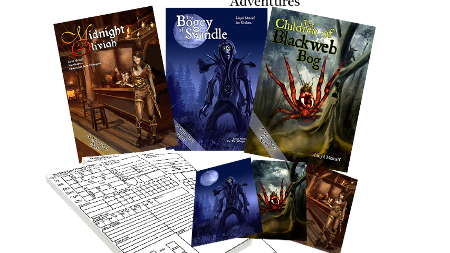 RPG Mini Mods - Role Playing Games Mini Modules by Lloyd