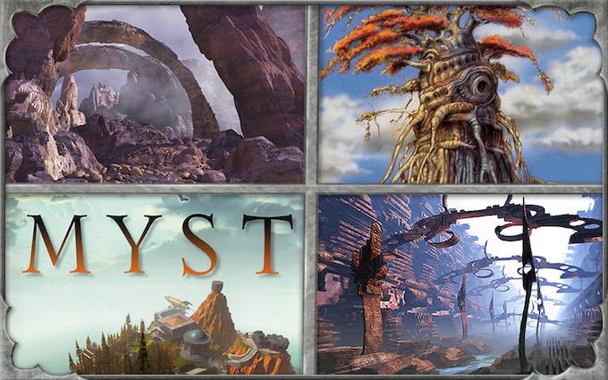 Carter's past game work - MYST, Dune, Babylon5