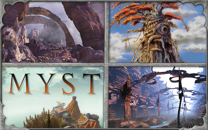 Carter's past game work - MYST, Dune, Babylon5