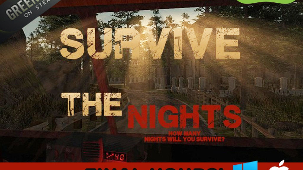 Survive the Nights — Multiplayer | Survival | Sandbox project video thumbnail