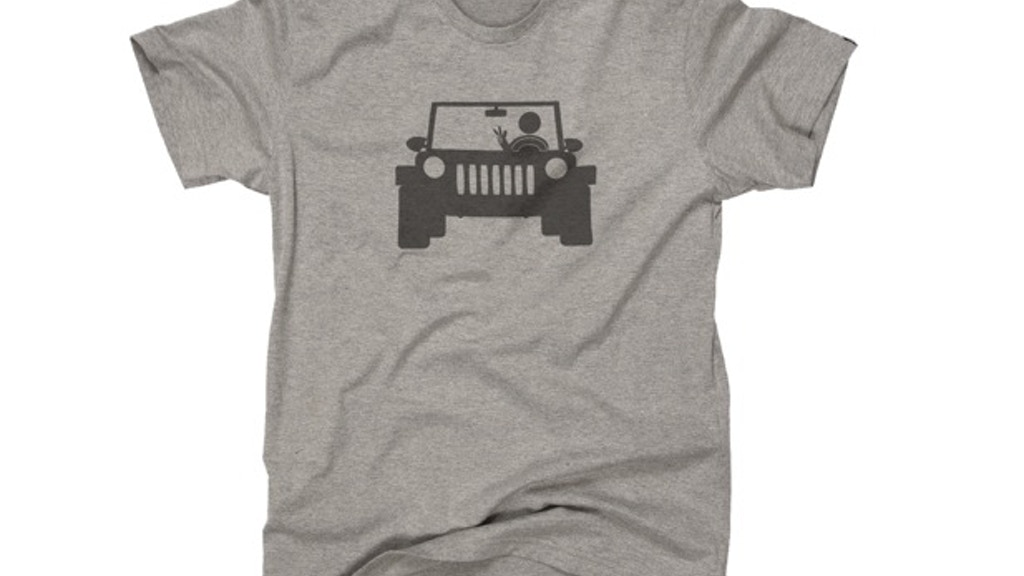Jeep Wave Fan T-Shirts & Bumper Stickers project video thumbnail