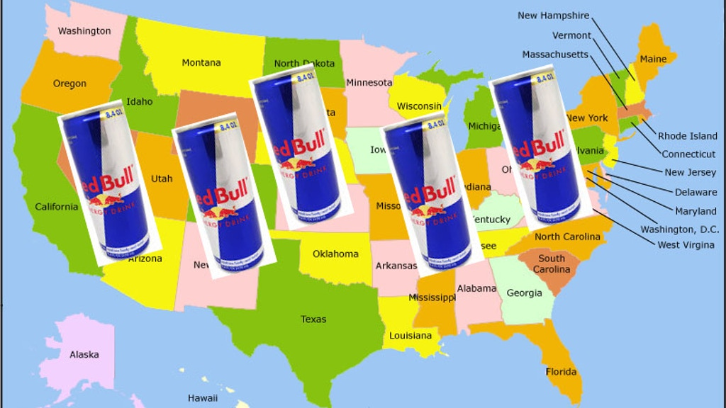 Project image for DRINK A RED BULL IN EVERY STATE POST VIDEO ON YouTube