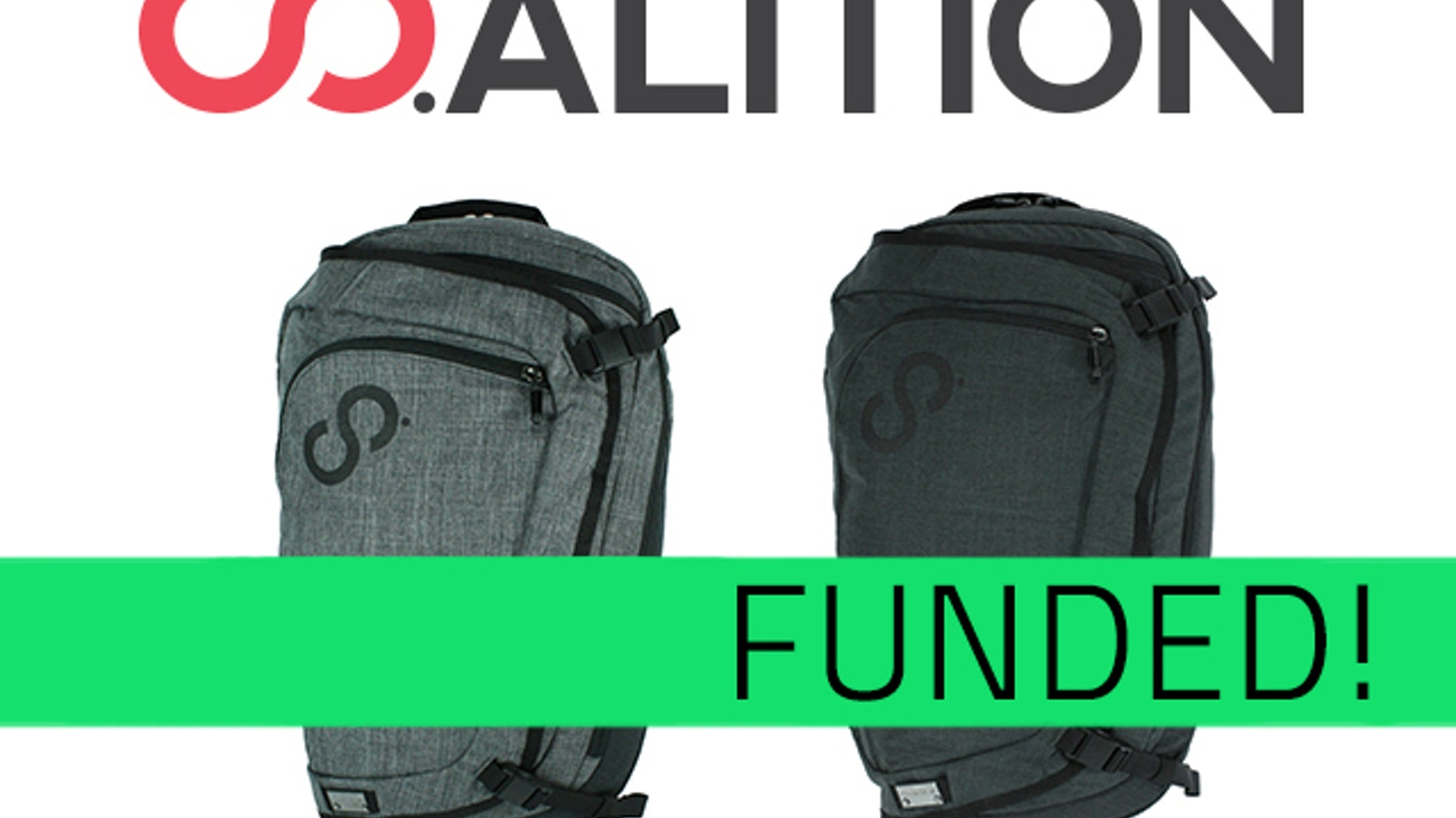 Urban backpack integrated with COMPUTERIZED POWER SUPPLY & WIRELESS MOBILE STORAGE to charge devices & access/store files on-the-go. www.co-alition.com