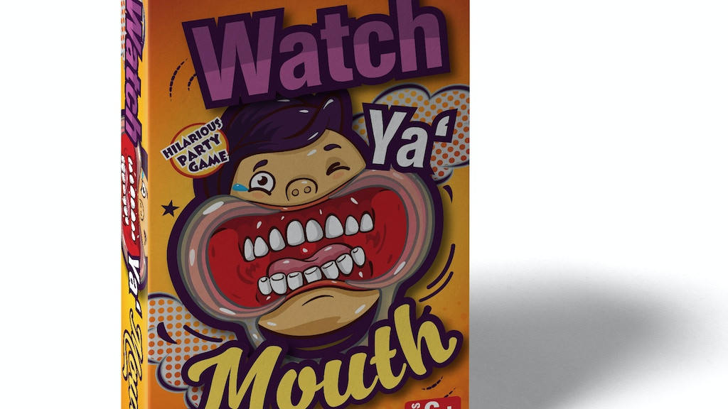Watch Ya' Mouth - A Hilarious Mouthguard Party Game project video thumbnail