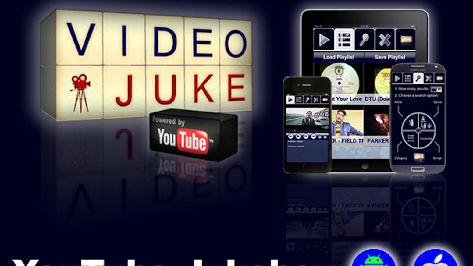 VideoJuke - A YouTube Video Jukebox Android/IOS by Elias Lee Gil Jr