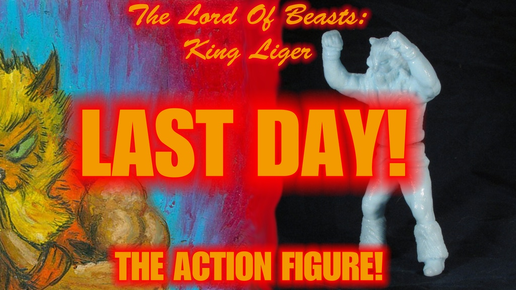 The Lord of Beasts, King Liger: The Action Figure! project video thumbnail