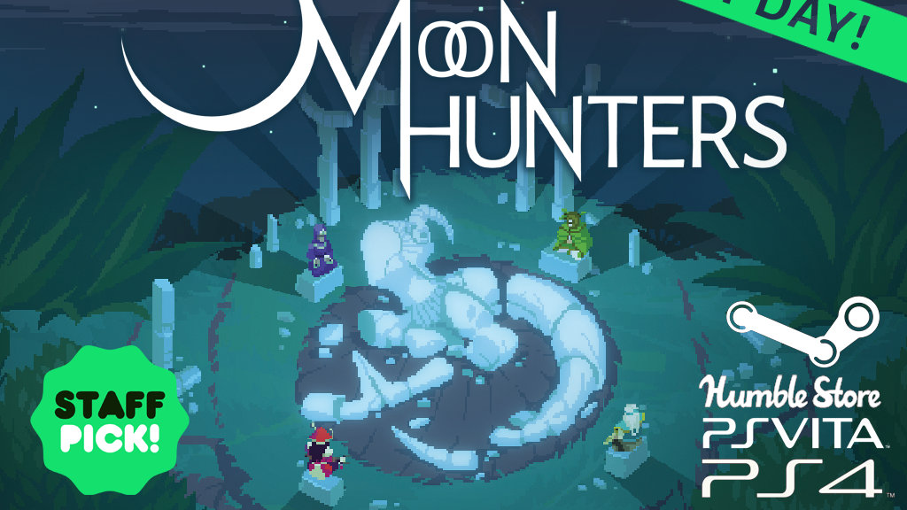 Moon Hunters, a Myth-Weaving RPG miniatura de video del proyecto