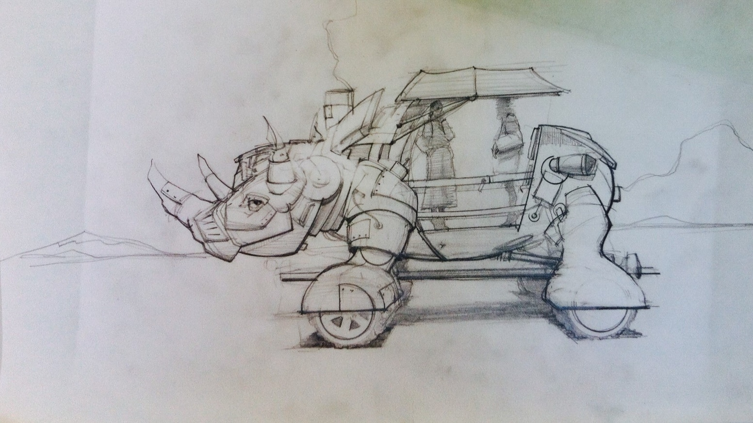 Rhino Redemption Art Car By Kevin Clark Tm Potter