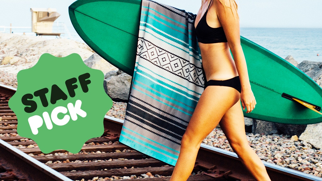 Universal Towel for Yoga, Beach, Travel, Life. ECO Friendly! project video thumbnail