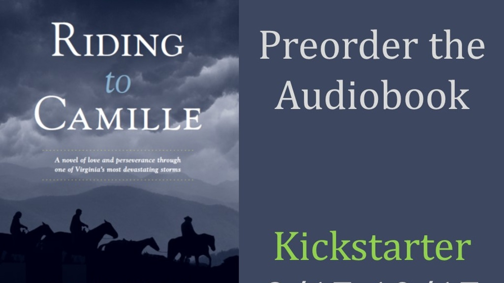 Riding to Camille Audiobook project video thumbnail
