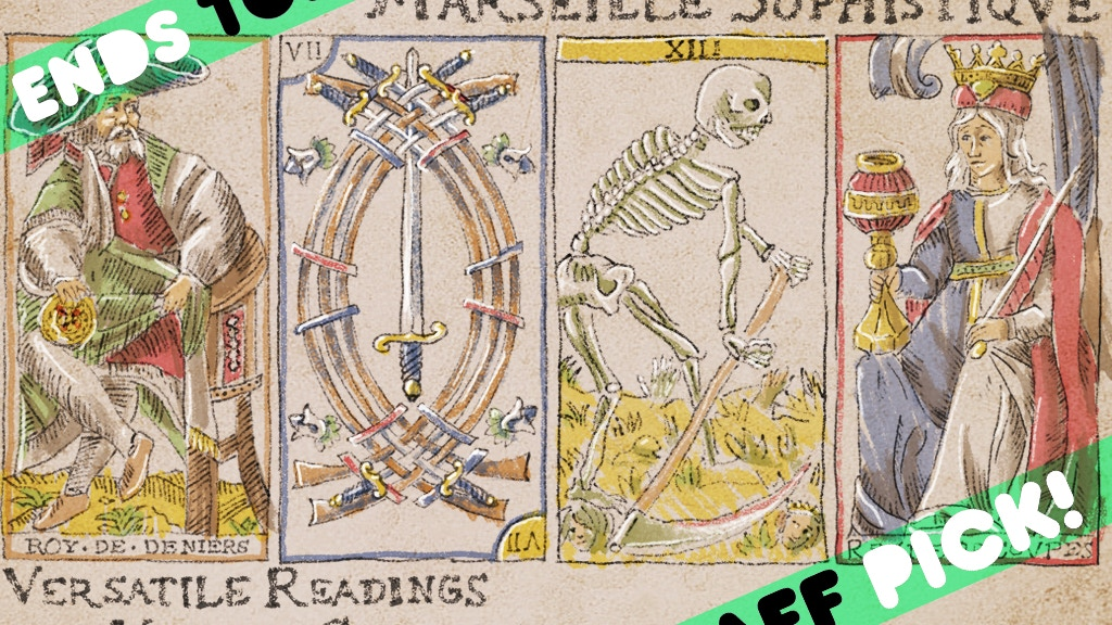 Marseille Sophistique: Versatile Readings, Vintage Gameplay project video thumbnail