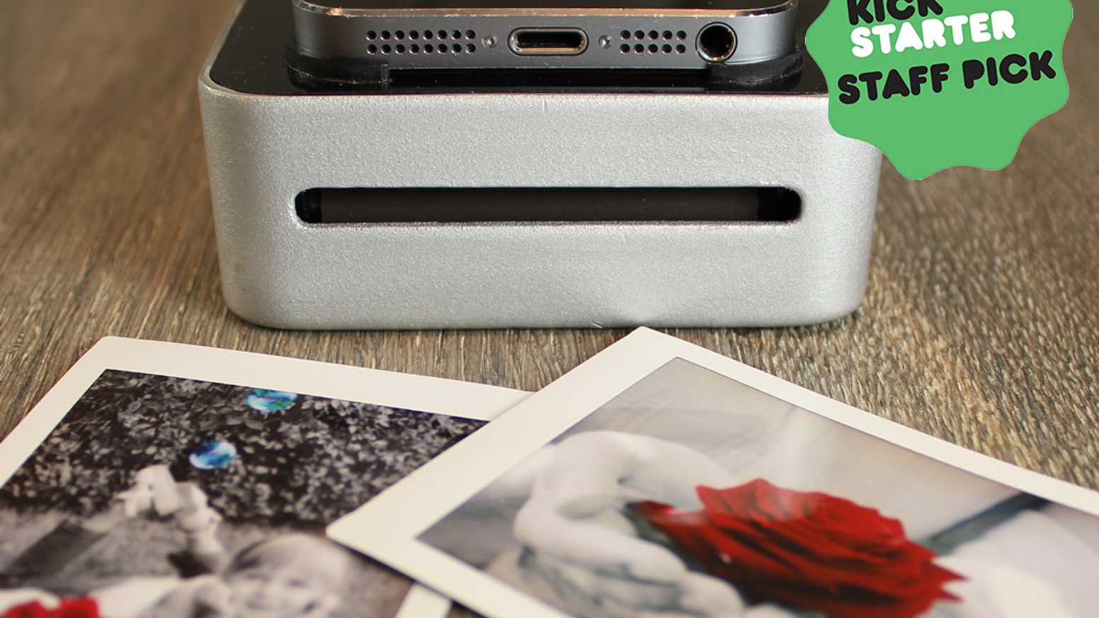 A high quality open-source photo printer that seamlessly interfaces with smartphones. No wires. No apps. Just beautiful images.