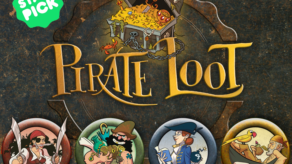 Pirate Loot, A Card Game of Treasure and Treachery project video thumbnail