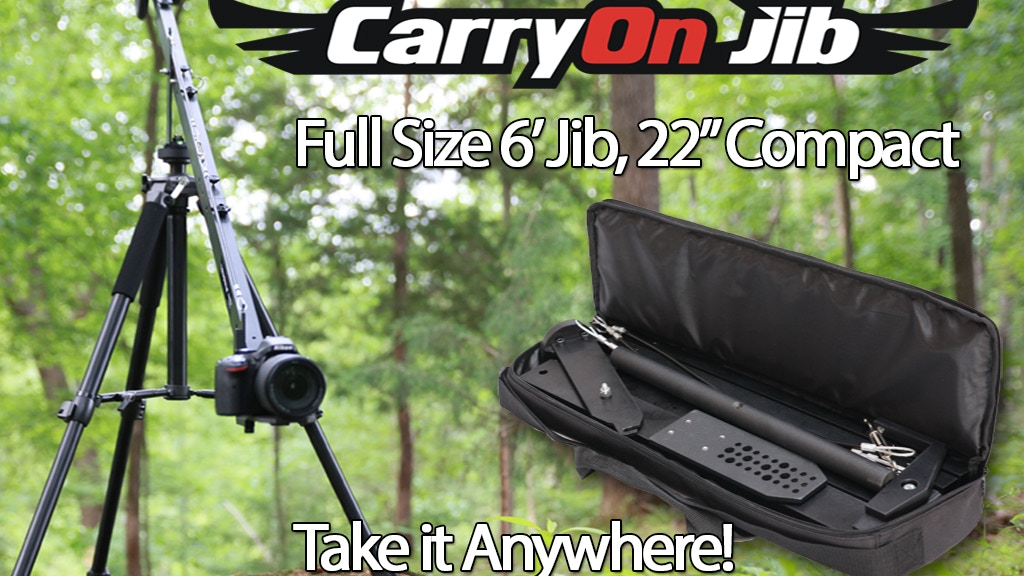 CarryOn Jib - The Most Compact, yet Full-Sized Camera Crane project video thumbnail