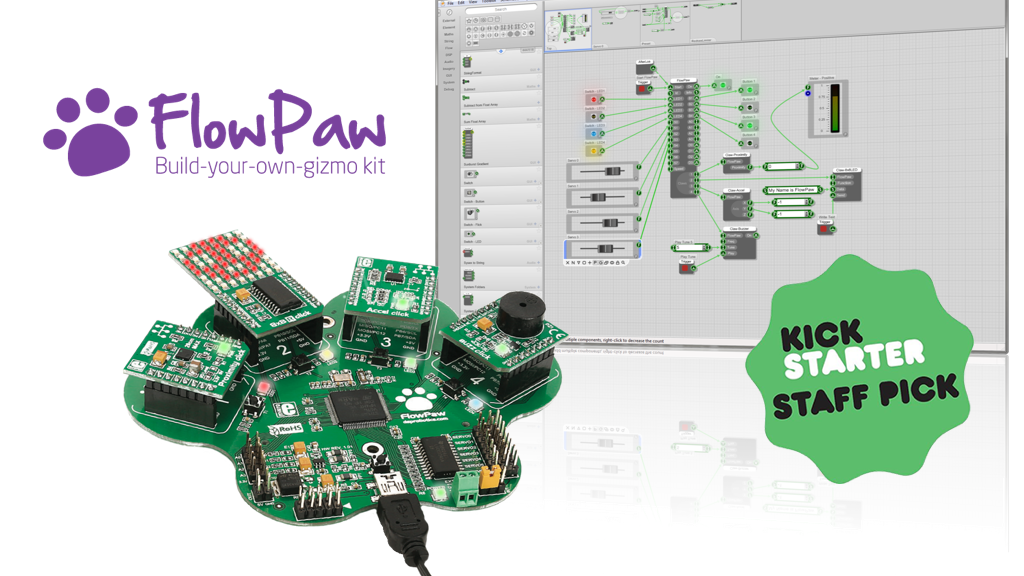 FlowPaw : Learn computer coding by building your own gizmos project video thumbnail
