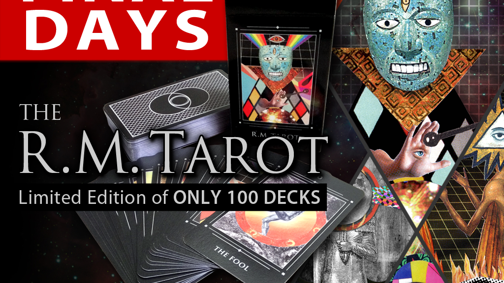 The R.M. Tarot - limited edition project video thumbnail