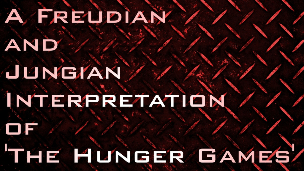 Project image for A Freudian and Jungian Interpretation of 'The Hunger Games'