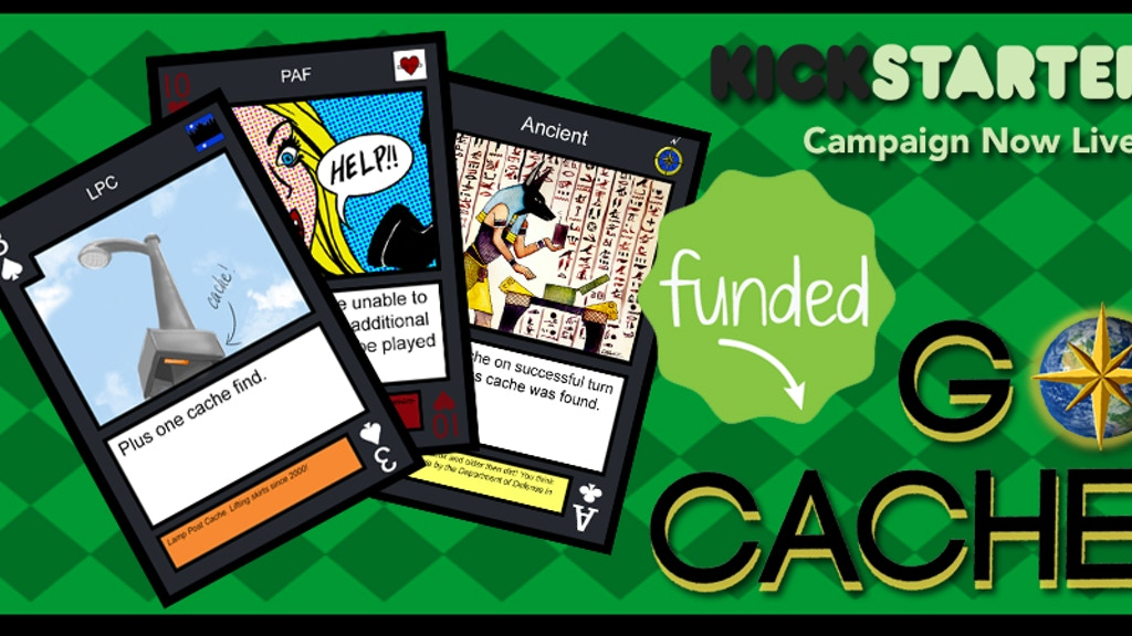 GoCache - A Geocaching-Themed Card Game project video thumbnail