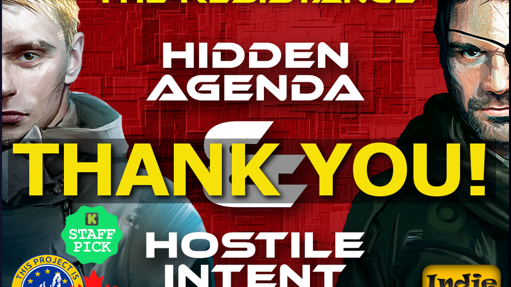 The Resistance - Hostile Intent & Hidden Agenda project video thumbnail