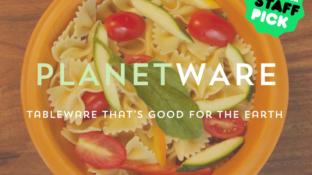 Planetware - Tableware Made from Plants project video thumbnail