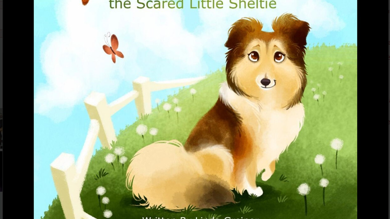 sashi the scared little sheltie by linda greiner kickstarter