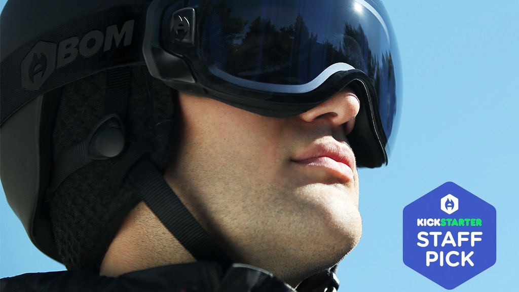 F-BOM: The first snow goggle with active anti-fog technology project video thumbnail