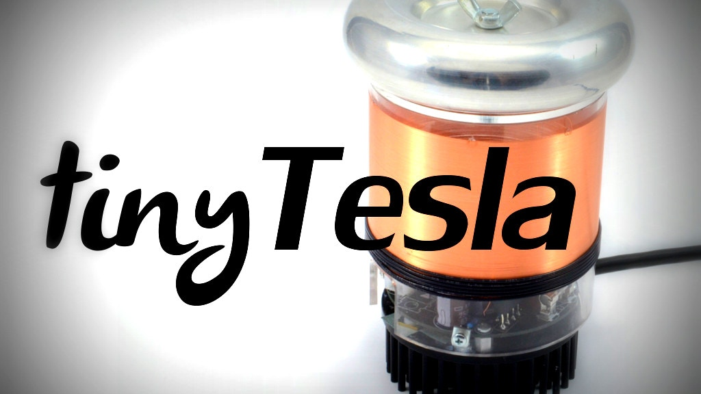 tinyTesla: the Little Singing Tesla Coil Anyone Can Build project video thumbnail