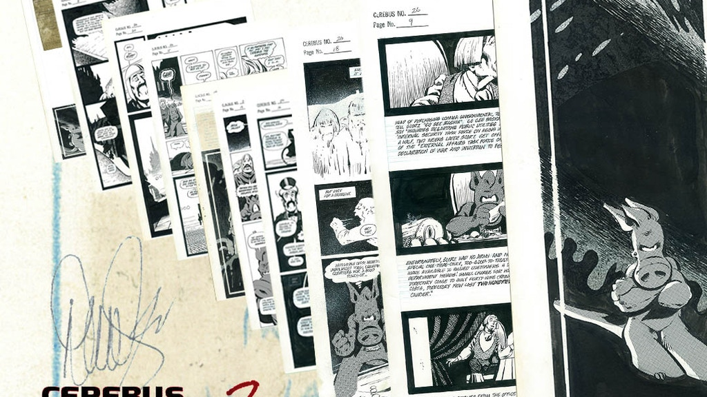 CEREBUS ARCHIVE NUMBER TWO project video thumbnail