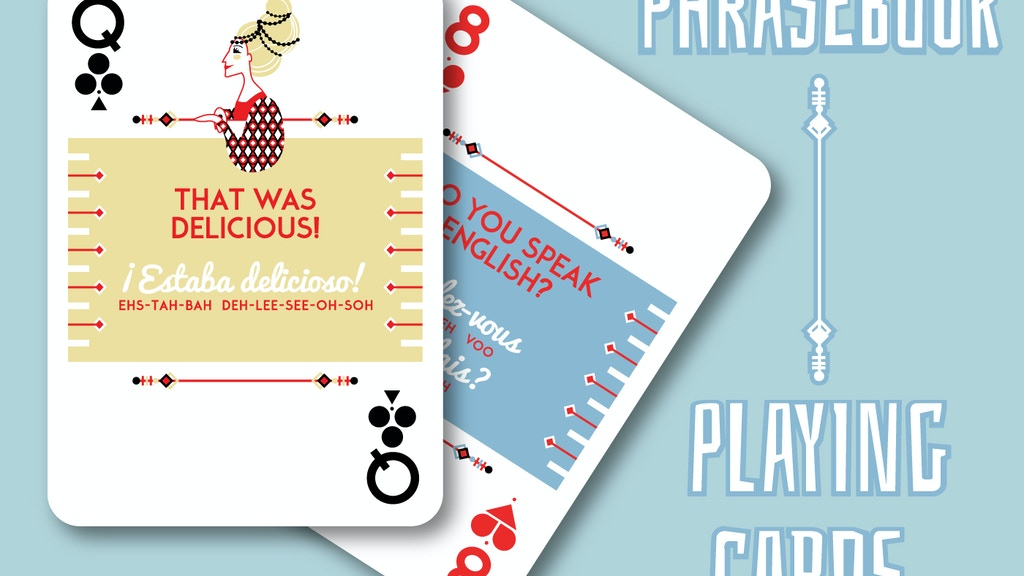 Phrasebook Playing Cards by Lingo project video thumbnail