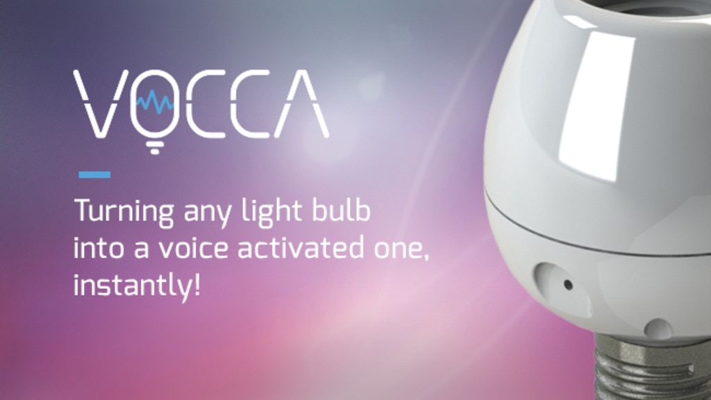 Vocca -Turn any simple light bulb into a voice activated one project video thumbnail