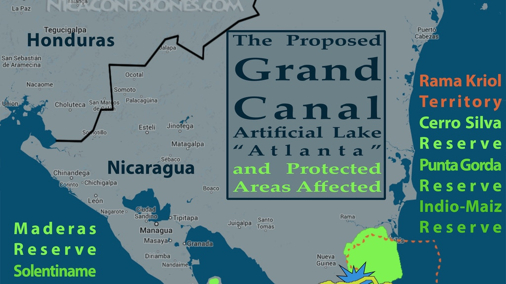 """Nicaragua's Grand Canal: """"Route 4 Before"""" Expedition project video thumbnail"""