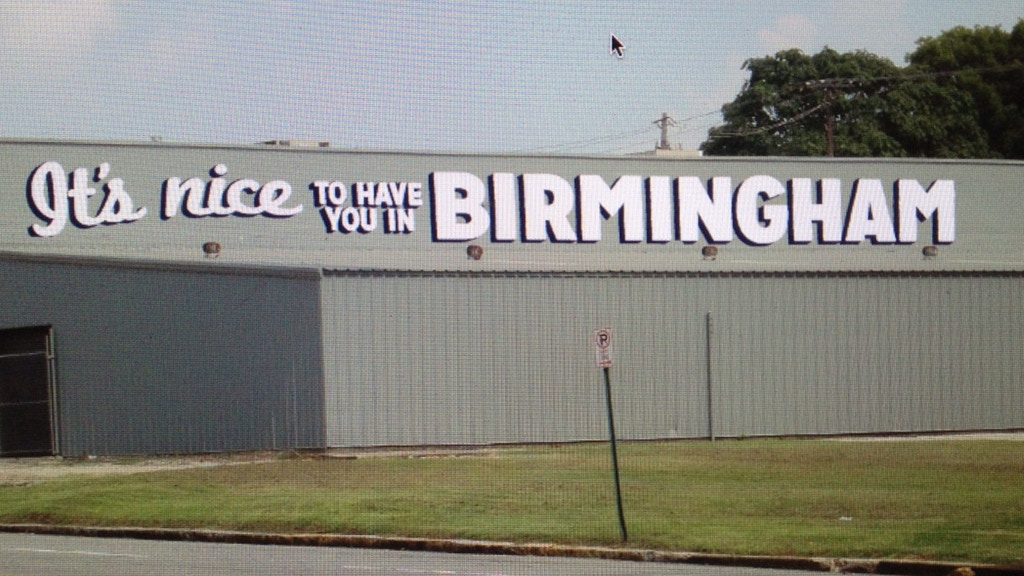It's Nice To Have You In Birmingham project video thumbnail
