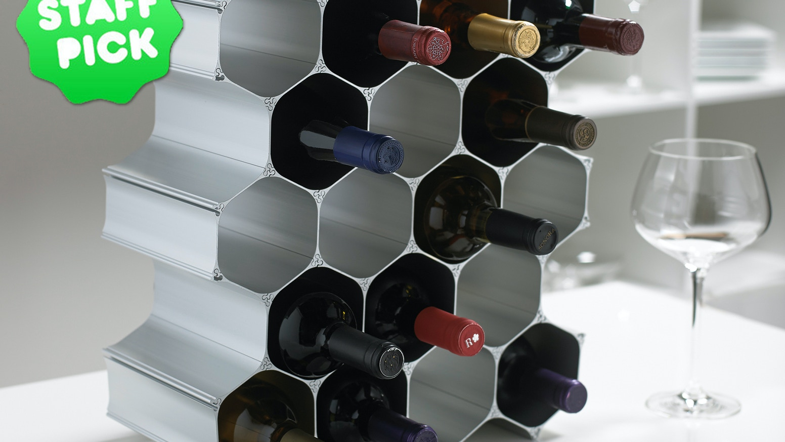 WineHive® Modular Wine Rack: Perfect Gifts for Wine Lovers!