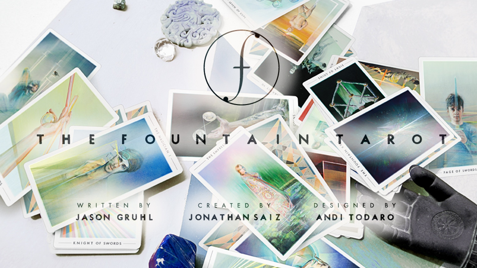 The Fountain Tarot: 79 contemporary cards of original oil paintings with an in-depth guide to reading Tarot in a custom-designed box