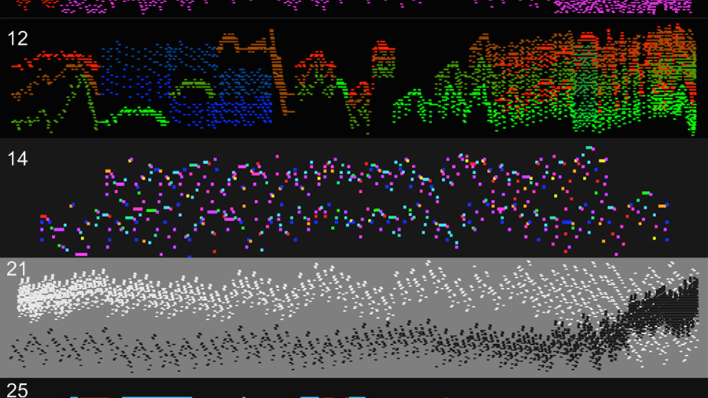 Nine Graphical Nancarrow Scores project video thumbnail