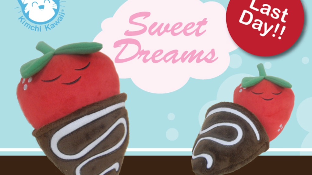 Sweet Dreams Cute Plush Strawberry project video thumbnail