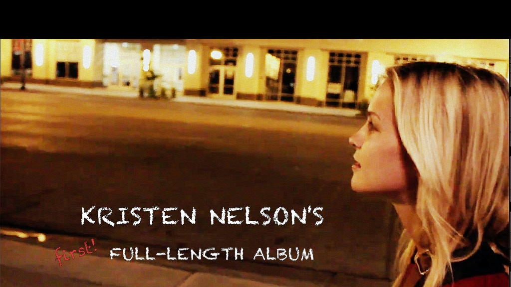 Kristen Nelson's Full-Length Album project video thumbnail