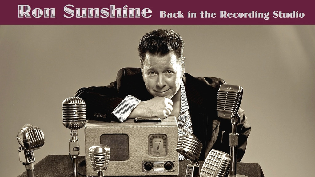 Ron Sunshine is making a new record…Thanks to You!!! project video thumbnail