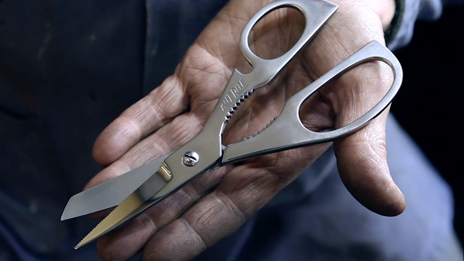 Lifetime-lasting scissors designed and hand-made by Ernest Wright and Son Ltd in Sheffield England - the birthplace of stainless steel.