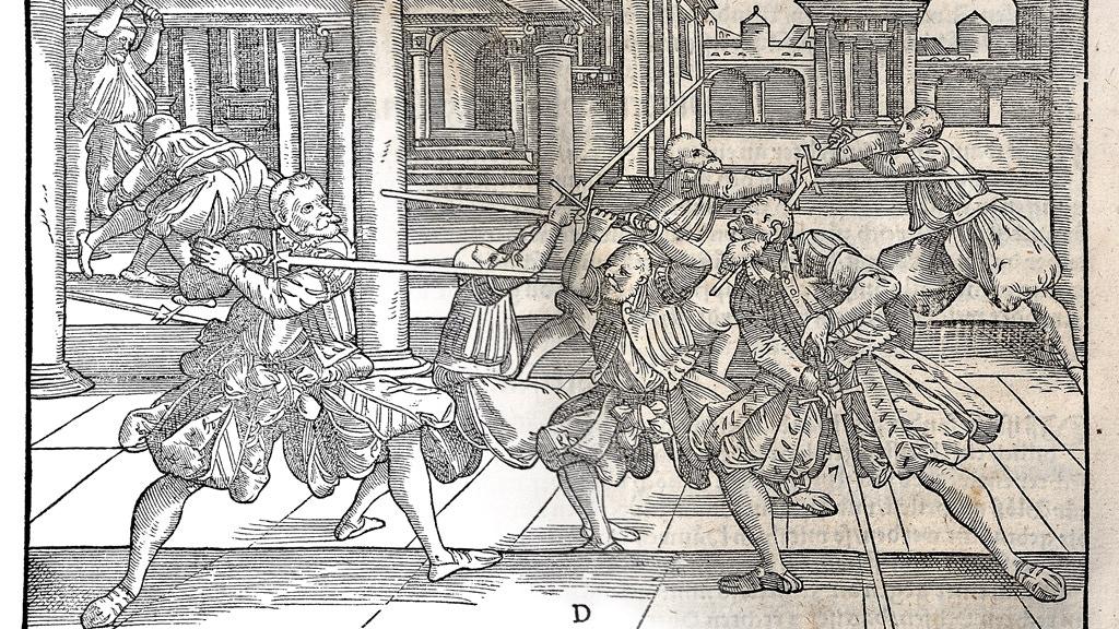 Restoration of 16th Century German Longsword Illustrations project video thumbnail