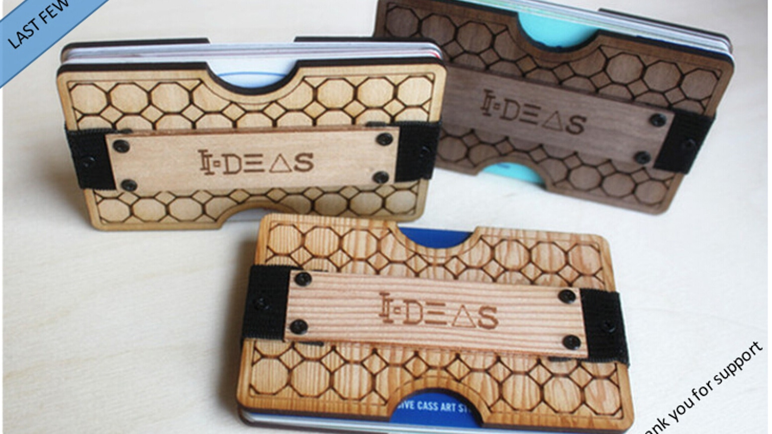 Lasercut Ideas Wooden Wallet By Yang Chen Kickstarter
