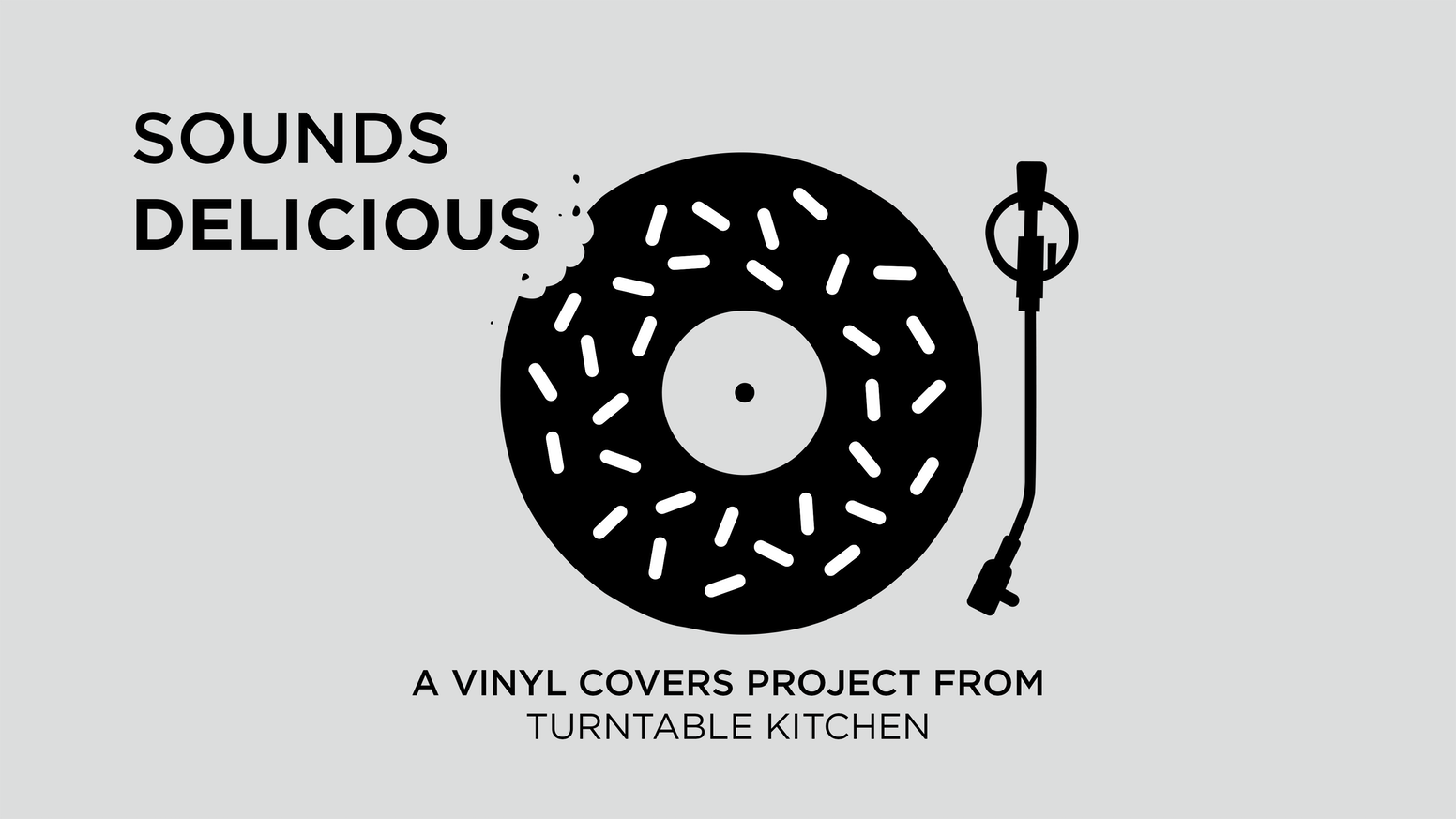 sounds delicious full length covers on vinyl every month by matthew hickey kickstarter - Turntable Kitchen