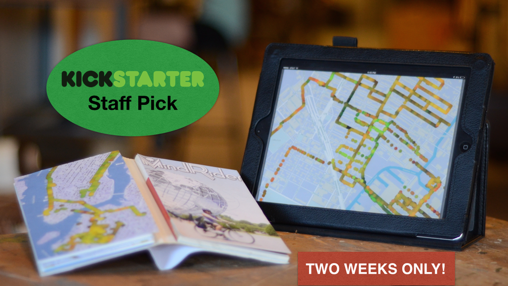 MindRider Maps NYC: A mental picture of bike riding. project video thumbnail