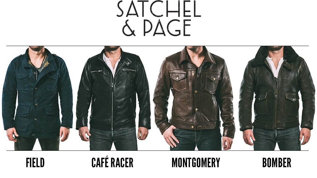 Satchel & Page: Custom Calf Leather and Waxed Cotton Jackets project video thumbnail