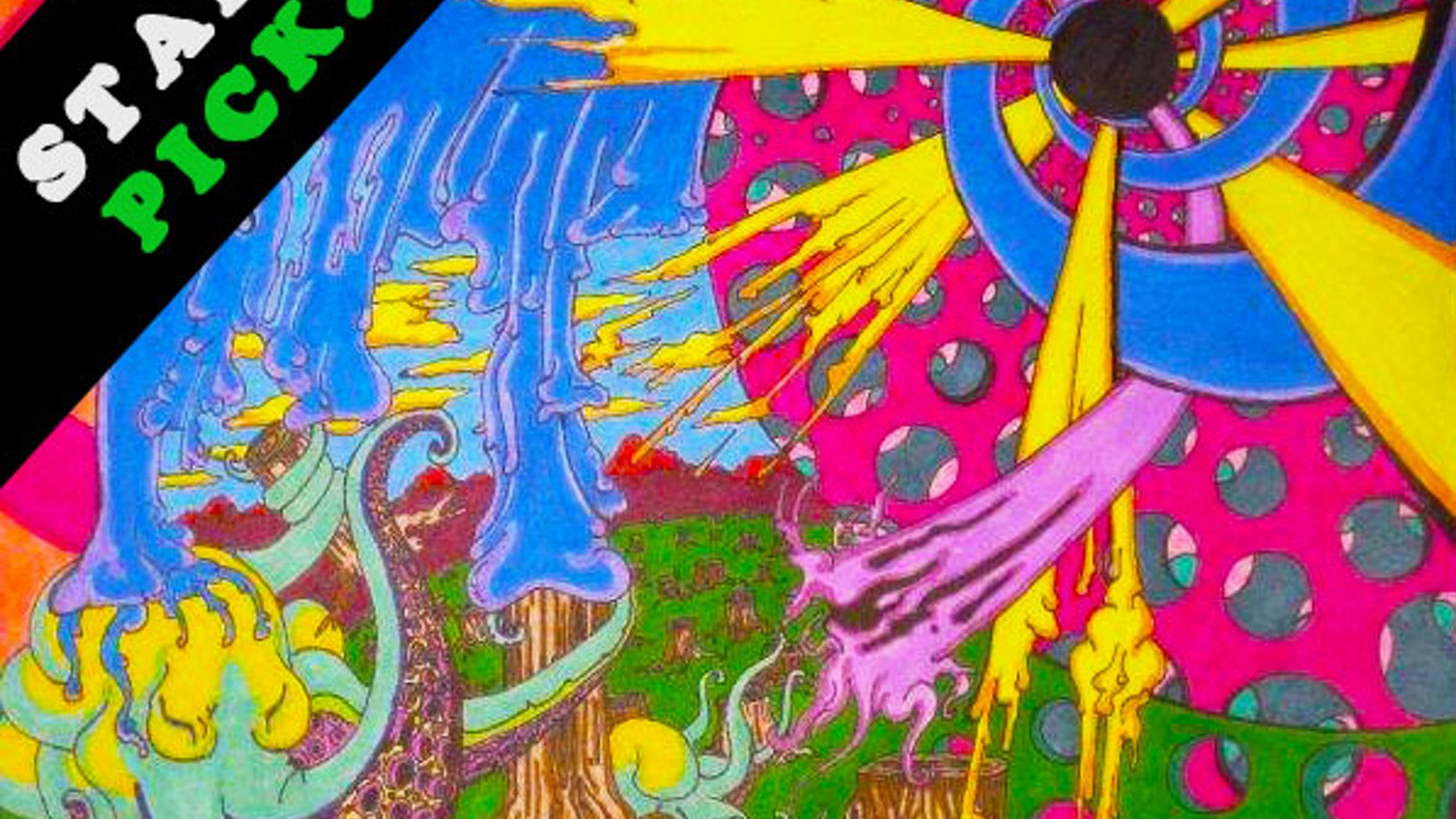 The Psychedelic Coloring Book by Alexander Williamson ...