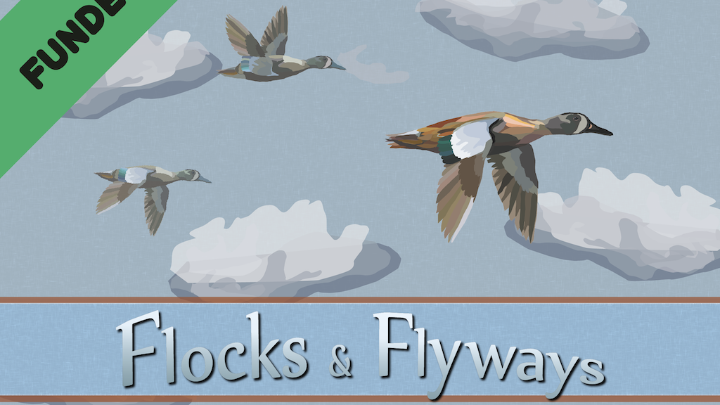 Flocks & Flyways - The strategic card game of migration! project video thumbnail