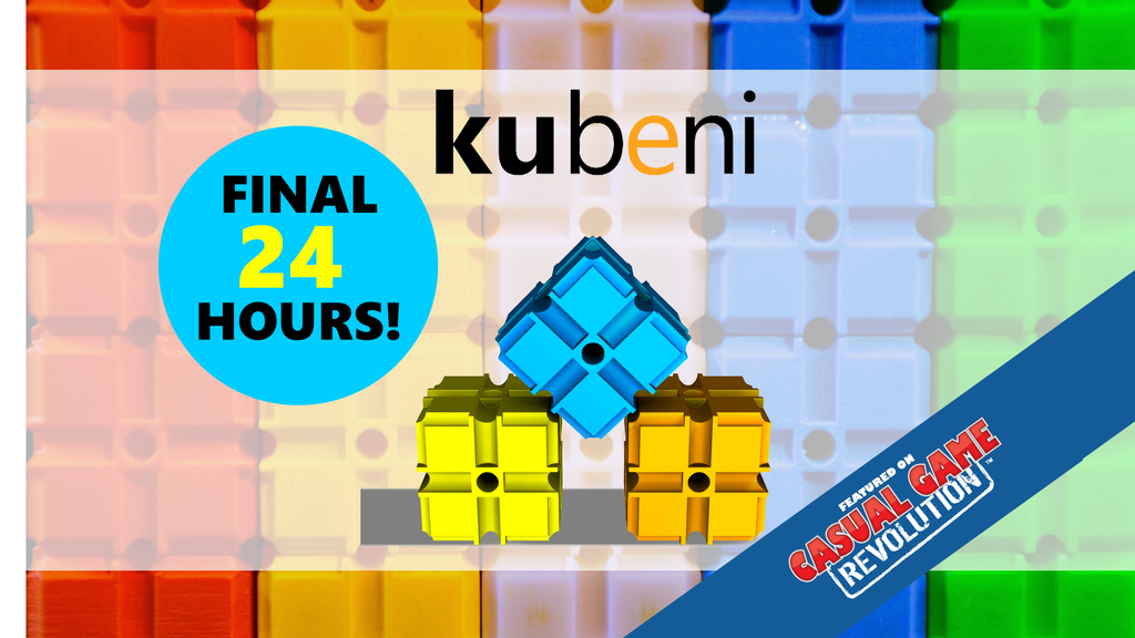 Kubeni - a party game that showcases brains and dexterity project video thumbnail