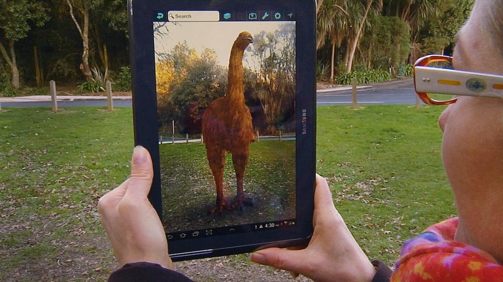 The Moa is back! NZ's 1st Virtual Bird Park in Otorohanga project video thumbnail