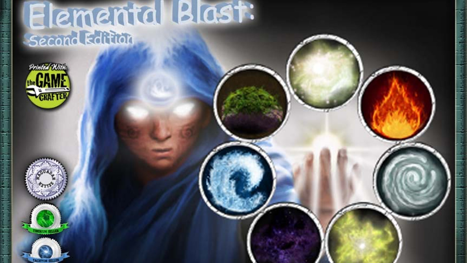 Can you master the elements and blast your way to victory? The award winning, strategic, party card game for 2-7 players.