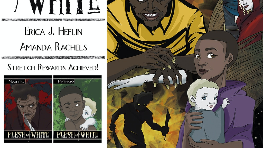 FLESH of WHITE: Horror, Albinism & Witch Doctors in Tanzania project video thumbnail